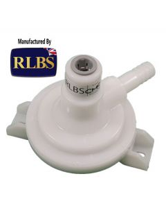 "Check Valve - (EWL) Mk4 Check Valve - 3/8JG In - 1/2"" Serrated/Barbed Outlet"