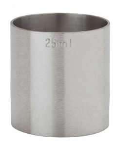 Thimble Measures - 25ml - CE Marked