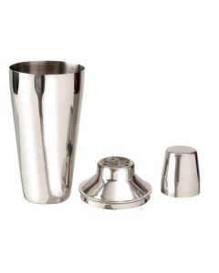Cocktail Shaker - Stainless Steel - Regular 3 Piece