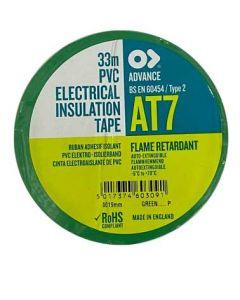 Green 19mm x 33mtr Insulation Tape