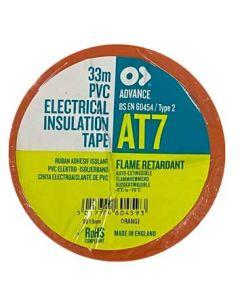 Orange 19mm x 33mtr Insulation Tape