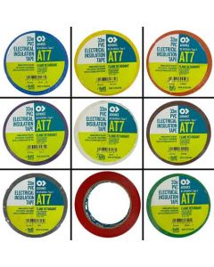 Coloured Insulation Tape - 19mm x 33 mtr