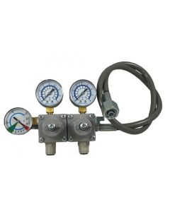 Soft Drinks Two Stage CO2 Primary Regulator (Wall Mount)
