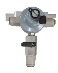 V3002 Secondary Reducing Regulator with Pass-Through (Wall Mount) without Gauge