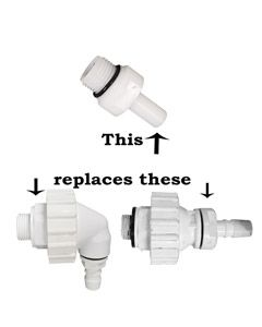 Replacement Homark Cylinder Inlet Tail with Non-Return