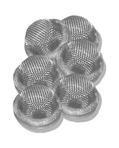 10 Pack - Hop Filter / Sieve with Seal for 3/4BSP Cask Nut & Tail (Top Hat)