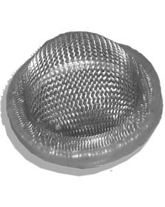 Hop Filter / Sieve with Seal for L & Y Thread Cask Nut & Tail (Top Hat)