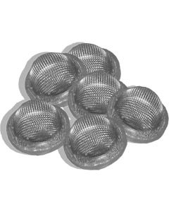 10 Pack - Hop Filter / Sieve with Seal for L & Y Thread Cask Nut & Tail (Top Hat)
