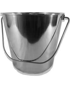 Stainless Steel Bucket 12Ltr with Handle