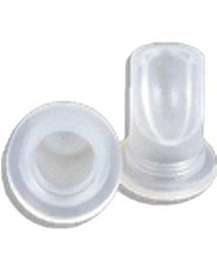Keg Coupler Gas Non-Return Valve - Clear (Lip Valve)