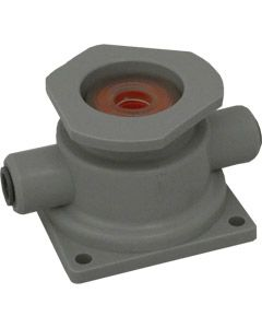 "Cleaning Socket - Grundy (G-Type) Socket with 3/8"" JG (Grey 1 Piece)"