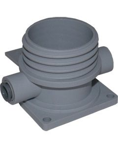 Cleaning Socket - Wall Mount Backplate with 3/8 JG
