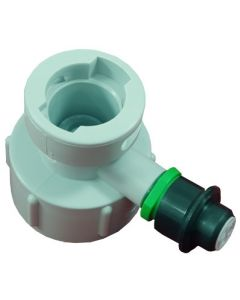 Cleaning Bottle Top- U-Type (UEC) Top with 60 PSI PRV
