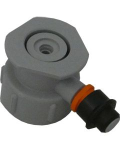 Cleaning Bottle Top - Grundy (G-Type) Bottle Top with 50 PSI PRV