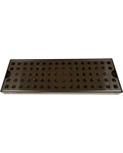 Drip Tray – Stainless Steel Drip Tray + Grate