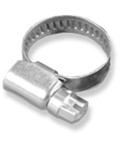 Hose Clip – 00 Size – 13.20mm - Stainless Steel