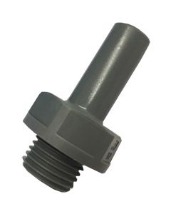 "3/8"" x ¼ BSP Thread Stem Adaptor - Push Fit"