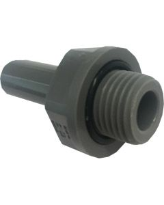 "3/8"" x 3/8"" BSP Thread Stem Adaptor - Push Fit"