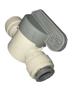 "Shut Off Valve Long Handle, 3/8"" Tube"