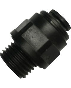 Straight Adaptor, 6mm Push Fit x 1/4 BSP Male Thread