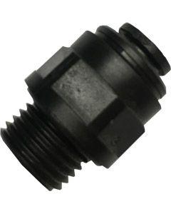 Straight Adaptor, 6mm Push Fit x 1/4 BSP Male Thread