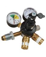 Mixed Gas Primary Gas Bottle Regulator (Bottle Mount) with 2 Gauges