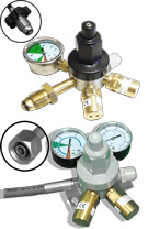 Primary Gas Bottle Regulators