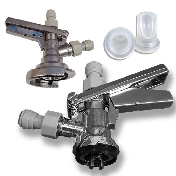 Keg Couplers + Spares